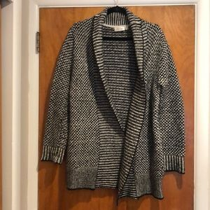 RD Style Marbled Sweater Cardigan